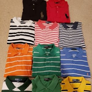 Ralph Lauren Polo Rugby Shirts 2X Big and Tall